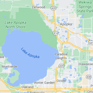 apopka florida map