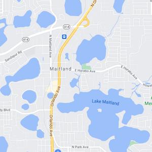 maitland fl map