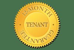 12 months tenant guarantee